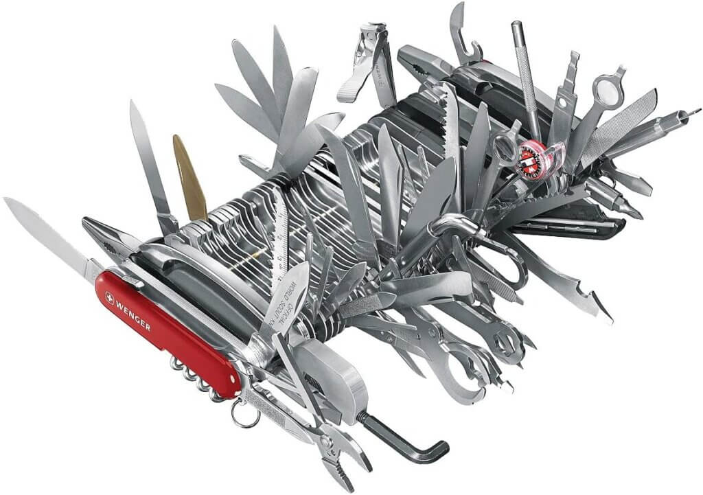 Wenger Giant Swiss Army Knife — The most expensive knife on Amazon