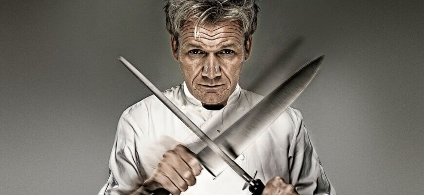What knives does Gordon Ramsey use