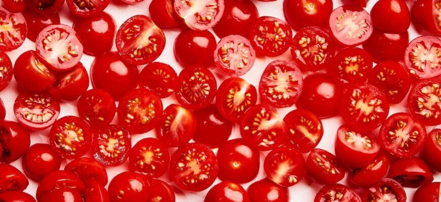 How to cut tomatoes slices or cubes for salad, tacos, burgers etc