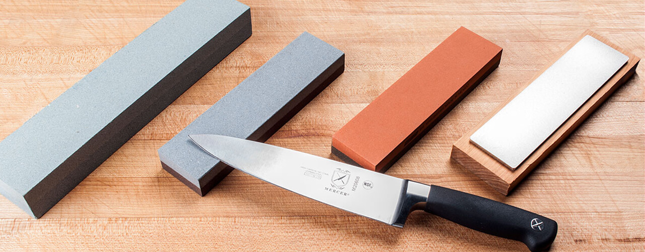How to use a sharpening stone