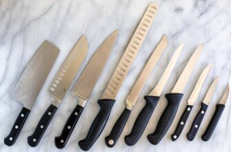 All types of knife and their uses