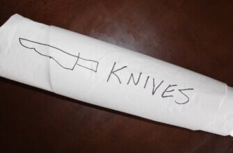 How to pack knives for moving