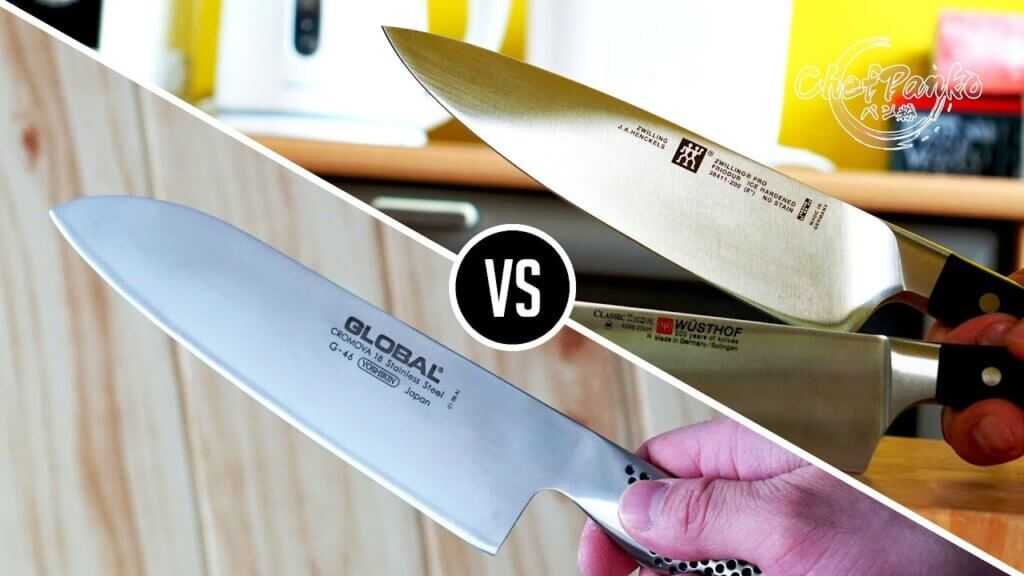 Santoku Knives vs Chefs Knives